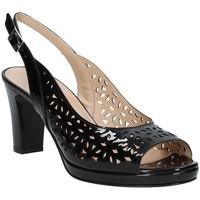 Sapatos Mulher Sandálias Soffice Sogno E9390 Preto