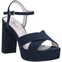 Sapatos Mulher Sandálias Grace Shoes 492PL003 Azul