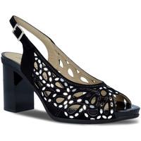 Sapatos Mulher Sandálias Pitillos 5581 Preto