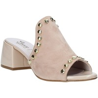 Sapatos Mulher Chinelos Grace Shoes 1576006 Bege