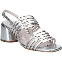 Sapatos Mulher Sandálias Grace Shoes 123001 Prata