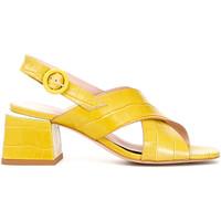 Sapatos Mulher Sandálias Café Noir LF124 Amarelo