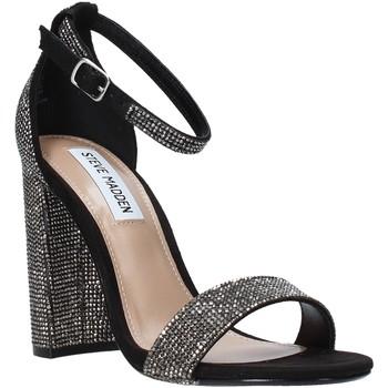 Sapatos Mulher Sandálias Steve Madden SMSCARRSONR-BLK Preto