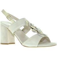 Sapatos Mulher Sandálias Melluso S521 Bege