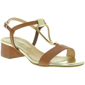 Sapatos Mulher Sandálias Susimoda 2793 Castanho