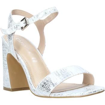 Sapatos Mulher Sandálias Café Noir LA926 Prata