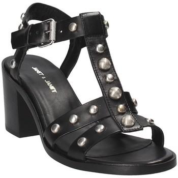 Sapatos Mulher Sandálias Janet&Janet 41409 Preto