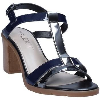 Sapatos Mulher Sandálias The Flexx D6015_08 Cinzento