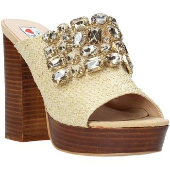 Sapatos Mulher Chinelos Love To Love ELI4177 Castanho