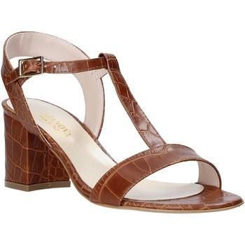 Sapatos Mulher Sandálias Casanova LING Castanho
