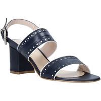 Sapatos Mulher Sandálias Casanova LJIAJIC Azul