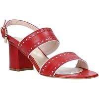 Sapatos Mulher Sandálias Casanova LJIAJIC Vermelho