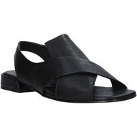 Sapatos Mulher Sandálias Mally 5763R Preto