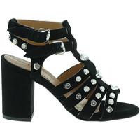 Sapatos Mulher Escarpim Mally 6123 Preto
