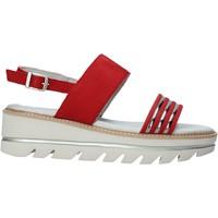 Sapatos Mulher Sandálias Mally 6532P Preto