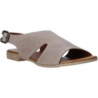 Sapatos Mulher Sandálias Bueno Shoes 9L2702 Cinzento