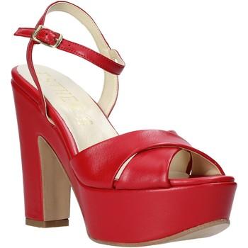 Sapatos Mulher Sandálias Esther Collezioni T260 CRIS Vermelho