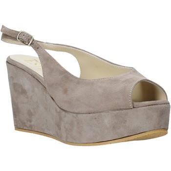 Sapatos Mulher Sandálias Esther Collezioni ZC 042 Cinzento