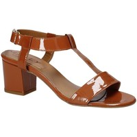 Sapatos Mulher Sandálias Mally 3895K Castanho