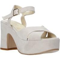 Sapatos Mulher Sandálias Esther Collezioni RM133 Cinzento