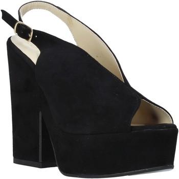 Sapatos Mulher Sandálias Esther Collezioni ALBA 107 Preto