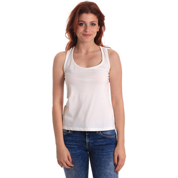Textil Mulher Tops sem mangas Fornarina BE175L04JG0709 Branco
