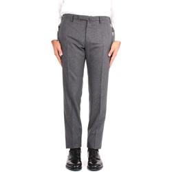 Textil Homem Calças Incotex 1T0030 1721T Cinza