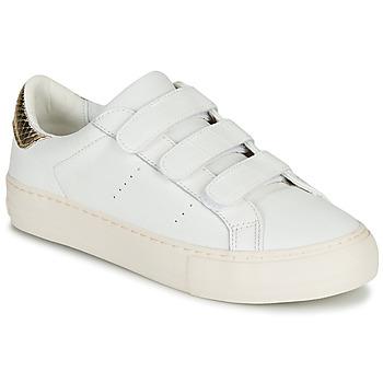 Sapatos Mulher Sapatilhas No Name ARCADE STRAPS Branco / Bege