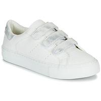 Sapatos Mulher Sapatilhas No Name ARCADE STRAPS Branco / Prateado