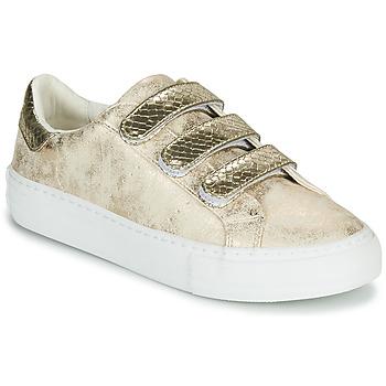 Sapatos Mulher Sapatilhas No Name ARCADE STRAPS Ouro