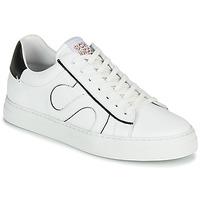 Sapatos Homem Sapatilhas Schmoove SPARK MOVE Branco / Preto