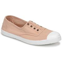Sapatos Mulher Sapatilhas Victoria INGLESA ELASTICO Bege