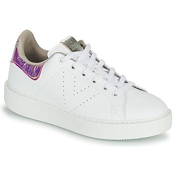 Sapatos Mulher Sapatilhas Victoria UTOPIA HOLOG Branco
