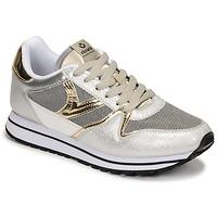 Sapatos Mulher Sapatilhas Victoria COMETA REJILLA Prata / Ouro