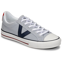 Sapatos Homem Sapatilhas Victoria TRIBU LONA CONTRASTE Cinza