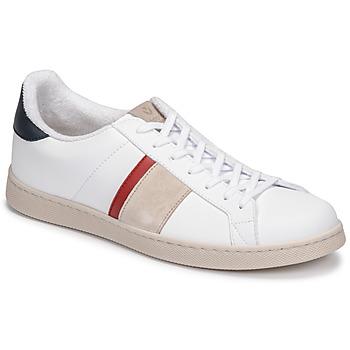 Sapatos Homem Sapatilhas Victoria TENIS VEGANA DETALLE Branco / Azul