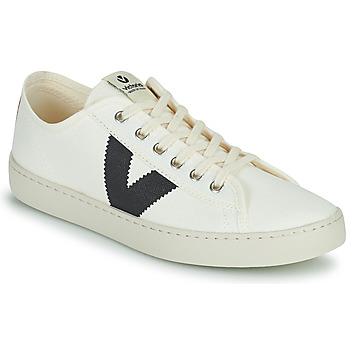 Sapatos Mulher Sapatilhas Victoria BERLIN LONA GRUESA Branco / Azul