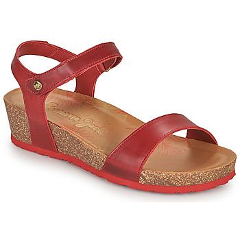 Sapatos Mulher Sandálias Panama Jack CAPRI Vermelho