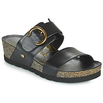 Sapatos Mulher Chinelos Panama Jack CATRINA Preto