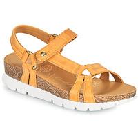Sapatos Mulher Sandálias Panama Jack SALLY BASICS Amarelo