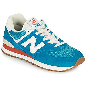 Sapatos Homem Sapatilhas New Balance 574 Azul / Branco
