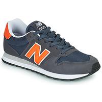 Sapatos Homem Sapatilhas New Balance 500 Azul / Laranja