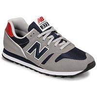 Sapatos Homem Sapatilhas New Balance 373 Cinza / Azul / Vermelho