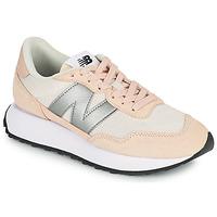 Sapatos Mulher Sapatilhas New Balance 237 Rosa / Prata