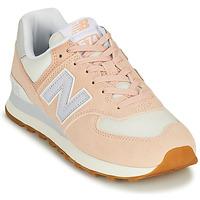 Sapatos Mulher Sapatilhas New Balance 574 Rosa / Azul