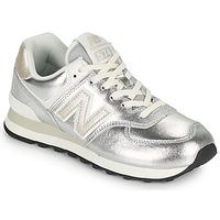 Sapatos Mulher Sapatilhas New Balance 574 Prata