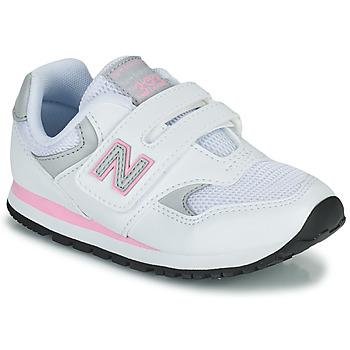 Sapatos Rapariga Sapatilhas New Balance 393 Branco / Rosa