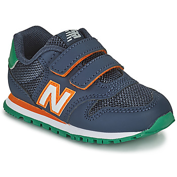 Sapatos Rapaz Sapatilhas New Balance 500 Azul / Laranja