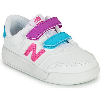 Sapatos Rapariga Sapatilhas New Balance COURT Branco / Rosa