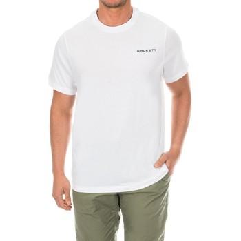 Textil Homem T-Shirt mangas curtas Hackett Camiseta  Golf Branco